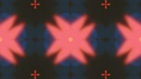 Raggi del caleidoscopio istantaneo come fondo astratto archivi video