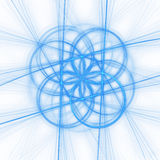 Raggi del cerchio Fotografia Stock