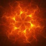 Raggi del fuoco di caos Fotografia Stock Libera da Diritti