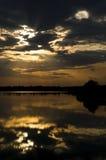 Raggi del sole Fotografia Stock