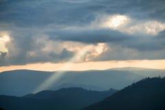 Raggi del sole Immagine Stock Libera da Diritti
