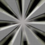 Raggi del sole dello spazio Fotografie Stock