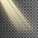 Raggi di indicatore luminoso illustrazione vettoriale