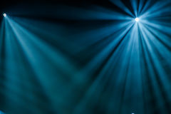 Raggi di indicatore luminoso Immagini Stock