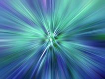 Raggi di indicatore luminoso colorato Immagine Stock