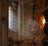 Raggi di indicatore luminoso in st Peter Fotografia Stock