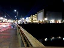 Raggi di luce a Torino Fotografia Stock Libera da Diritti