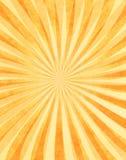 Raggi di sole stratificati su documento Immagini Stock