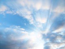 Raggi di Sun Immagine Stock Libera da Diritti