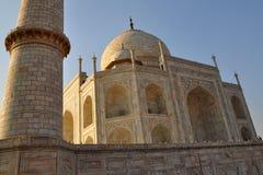 Raggi di Sun su Taj Mahal Fotografia Stock