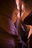 Raggi luminosi del canyon dell'antilope Fotografie Stock Libere da Diritti