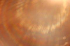 Raggi luminosi delicatamente caldi Immagine Stock