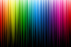 Raggi multicolori dell'arcobaleno royalty illustrazione gratis