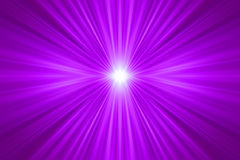 Raggi simmetrici viola Fotografie Stock Libere da Diritti
