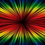 Raggi spettrali illustrazione vettoriale