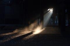 Raggio di indicatore luminoso Fotografie Stock Libere da Diritti
