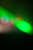 Raggio di luce laser Immagini Stock
