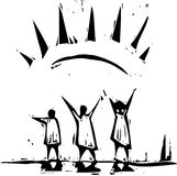 Raggio di Sun royalty illustrazione gratis