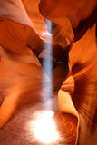 Raggio luminoso Fotografia Stock
