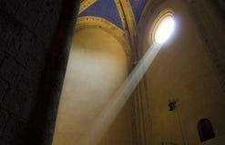 Raggio luminoso Fotografie Stock