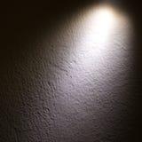 Raggio luminoso del punto sulla parete Immagini Stock