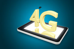 Raggiro ad alta velocità cellulare della connessione dati di telecomunicazione mobile Fotografia Stock Libera da Diritti
