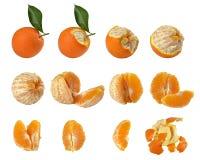 Raggiro 12 immagini di arance di Calendario Fotografia Stock