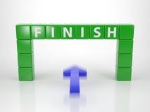 Raggiunga il vostro scopo - le parole di serie dalla lettera taglia illustrazione di stock