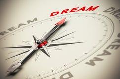 Raggiungimento del vostro sogno Fotografie Stock Libere da Diritti