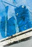Raggruppamento blu Fotografie Stock Libere da Diritti