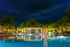 Raggruppamento caraibico dell'hotel fotografie stock libere da diritti