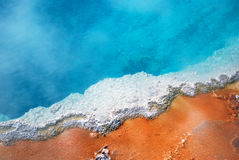Raggruppamento del geyser Immagini Stock