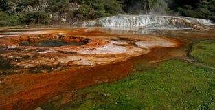 Raggruppamento del Thermal di Waiotapu Fotografia Stock Libera da Diritti