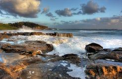 Raggruppamento della roccia dell'oceano fotografia stock libera da diritti