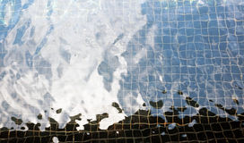 Raggruppamento di acqua Immagini Stock