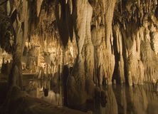 Raggruppamento G11 con le formazioni della caverna Immagine Stock