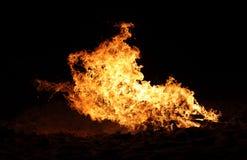 Raging Bonfire Royalty Free Stock Image