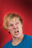 Raging man Stock Photography
