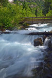 Raging Mountain Stream. Raging stream in Maroon Bells, Aspen, Colorado stock photos