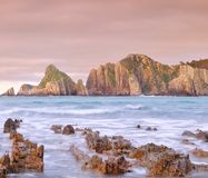 Raging sea. Royalty Free Stock Photo