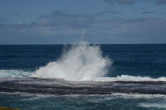 Raging Sea Stock Photography