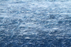 Raging sea with furious waves Stock Image