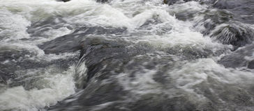 Raging stream flow Royalty Free Stock Photography