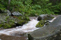 Raging Tye River Stock Image