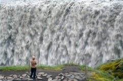 Raging waterfalls Royalty Free Stock Photos