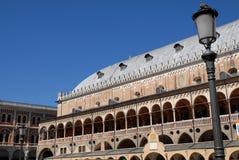 Ragione di della di Palazzo in centro un nel Veneto (Italia) di trova di si del che di Padova fotografie stock