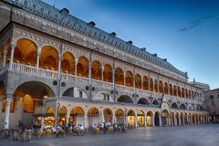ragione palazzo της Ιταλίας Πάδοβα della Στοκ Φωτογραφία