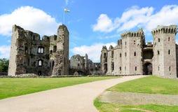 Raglan Castle – Wales, United Kingdom Royalty Free Stock Photos