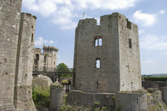 Raglan Castle Stock Photo