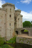 Raglan castle entrance towers Royalty Free Stock Images
